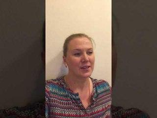 Видео-отзыв от Христины Черкасовой