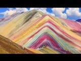 Радужные горы в Перу. Ну чем не Чудо Света?! #клубкожухова