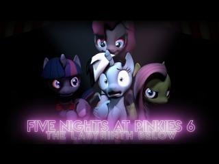 Five Nights At Pinkies 6 - The Labyrinth Below [SFM] ¦ 1080 FULL HD