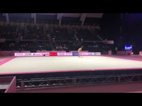 Арина Аверина - лента (многоборье) Aeon Cup 2018