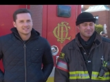 Chicago Fire Jesse Lee Soffer and Taylor Kinney Discuss Upcoming Crossover