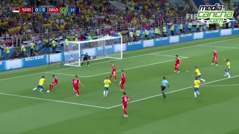 14 minutos de juego perdidos por Neymar