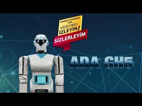 AKINROBOTICSin son insansı robotu ADA GH5ler artık aramızda...