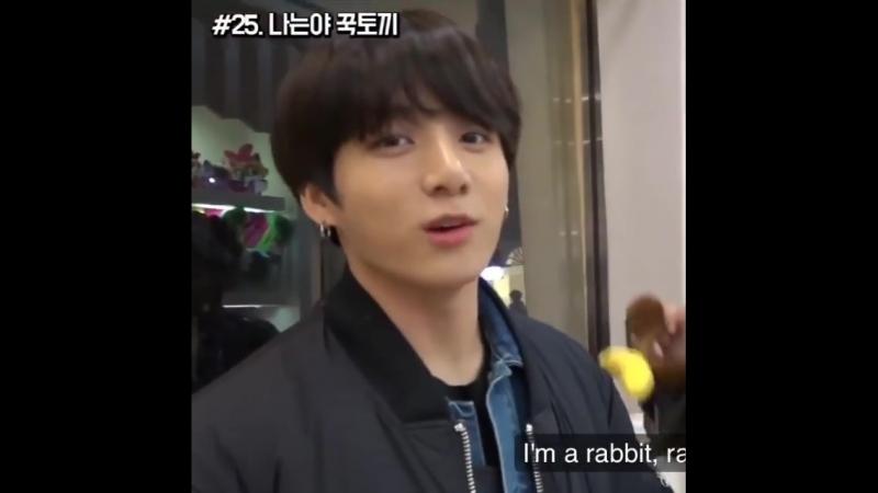 BTS - I`m a rabbit(1)