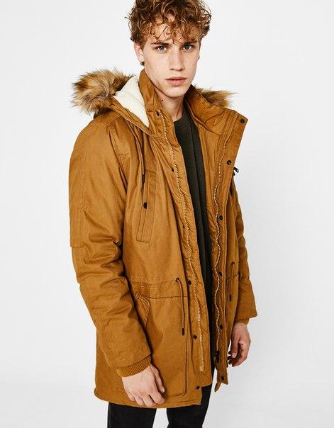 Пальто с камуфляжным принтом
