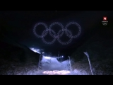 Intel - 2018 opening of the Olympic Games 1218 drones