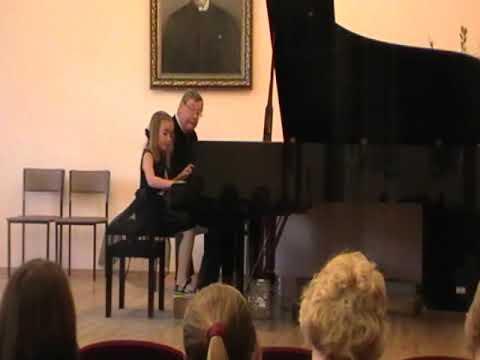Ангелина Саввина Совместное музицирование с членом жюри