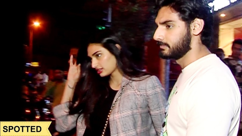 Athiya Shetty Spotted With Her Brother Aahan Shetty For A Party смотреть онлайн без регистрации