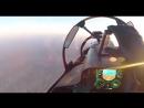 Su 30SM overflying a drone over Maarrat al Numan