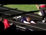 Как поступают дети с синдромом дауна, когда один из них падает на соревнованиях.