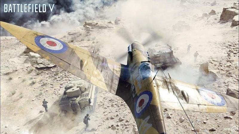 Battlefield V - Большой Захват «Хамада»