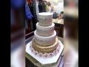 Свадебный тортик Рафаэля и Винеры