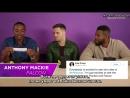 Интервью для Buzzfeed в рамках промоушена фильма «Мстители Война бесконечности» в США 21.04.18 русские субтитры