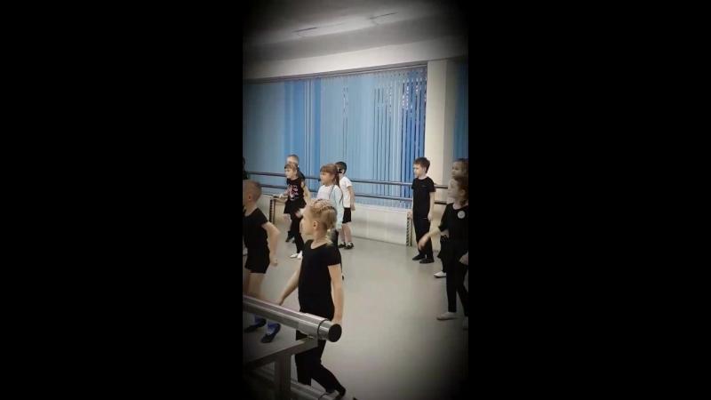 Урок хореографии студия Звукоград
