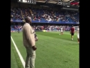 Less than minutes to go Enough time for SolManOfficial to wish the lads luck ahead of CHEARS