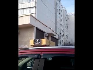 Новороссийск. Порывы ветра. 13.01.2018.