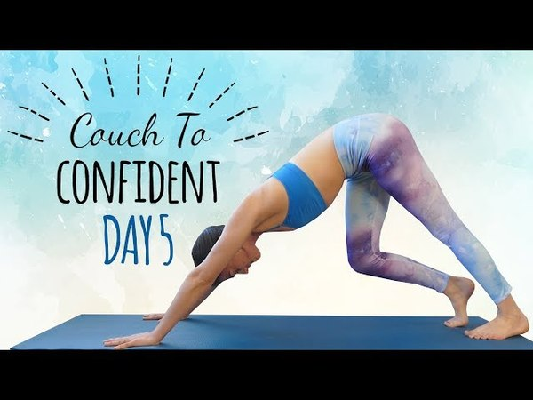 Yoga for Hips Splits Flexibility ♥ Day 5 of 14, 30 Minute Beginners Class, At Home, How To