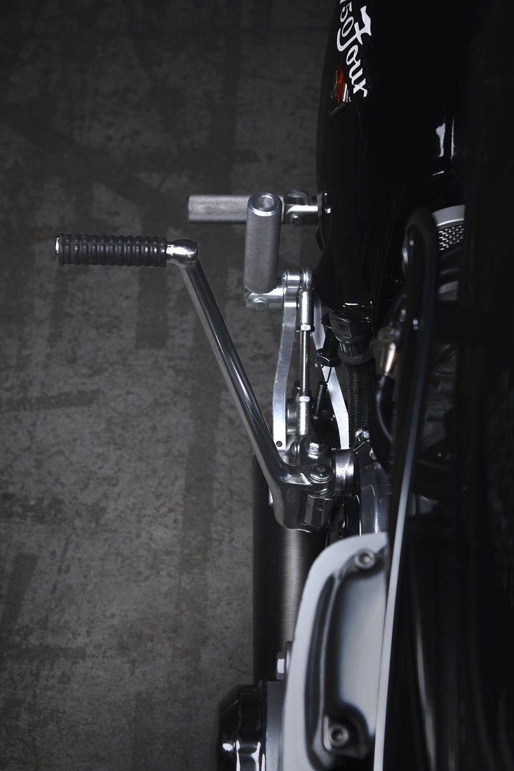 Кафе рейсер Honda CB750K La Poderosa