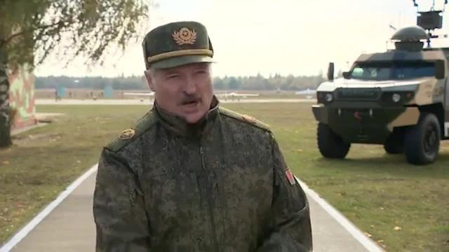 Комментарий Лукашенко про шлепок памятнику
