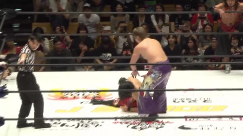 Eita, Shingo Takagi, Yasushi Kanda vs. Shuji Kondo, Takuya Sugawara, YASSHI (J STAGE - Korakuen Hall)