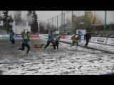 Играют Тушино и Зеленоград, кубок Москвы по регби на снегу, #2