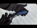 Нож разделочный НШС 2 Сталь Х12МФ рукоять граб Ножевая мастерская Кандаловых