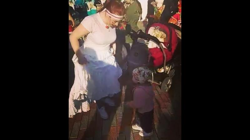 Танцы со Стефанией! Моя радость!