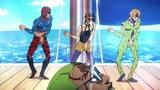 Mista and Narancia and Fugo Dance - JoJo's Bizarre Adventure Part 5 Golden Wind Ep 7