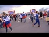 Фан-зона около стадиона Спартак в Москве