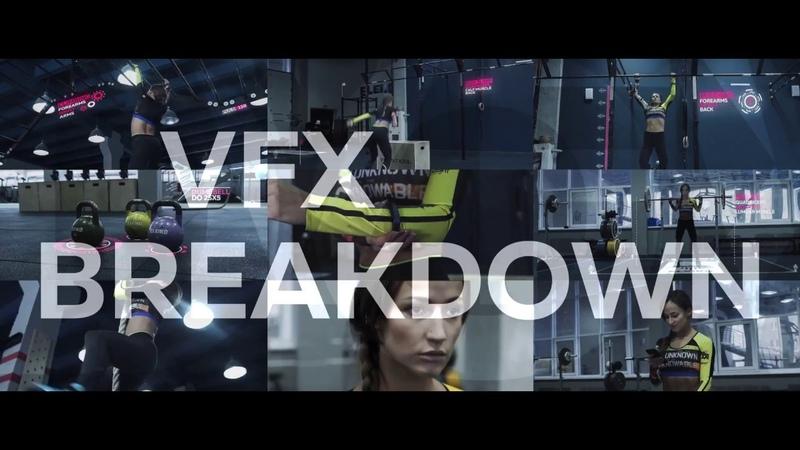 Fitness Tracker Commercial VFX Breakdown