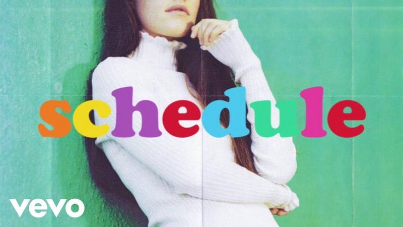 Sigrid - Schedules (Lyric Video)