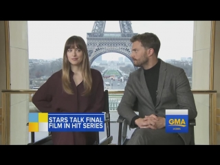 "Интервью Дакоты и Джейми для ""Good Morning America"" (русские субтитры)"