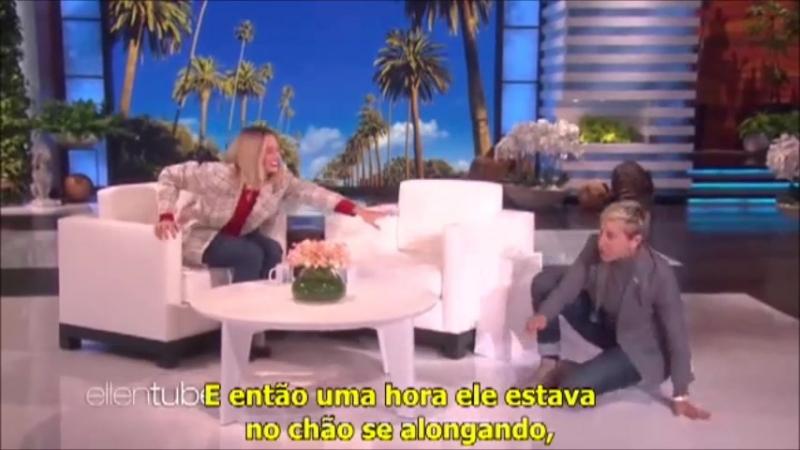 ↳ Margot Robbie revela como conheceu Ellen Degeneres e o ex presidente Obama (O9.1O.2O18) ― JGBR
