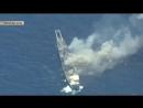 Тихоокеанский гром флот США испепелил собственный десантный корабль