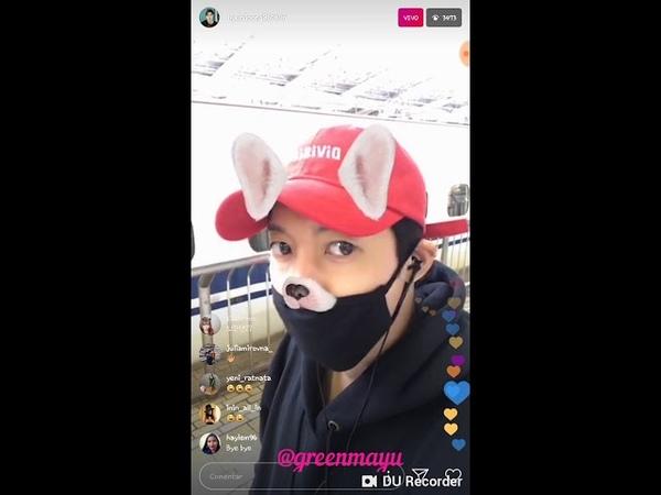 20181018 Kim Hyun Joong Instalive