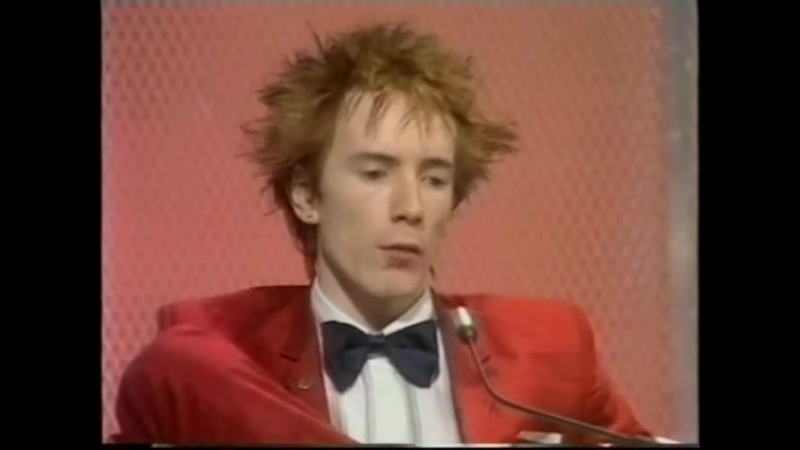 Sex Pistols - singer - John Lydon (Johny Rotten) on Jukebox jury 1979 Секс Пистолс в жюри Голос