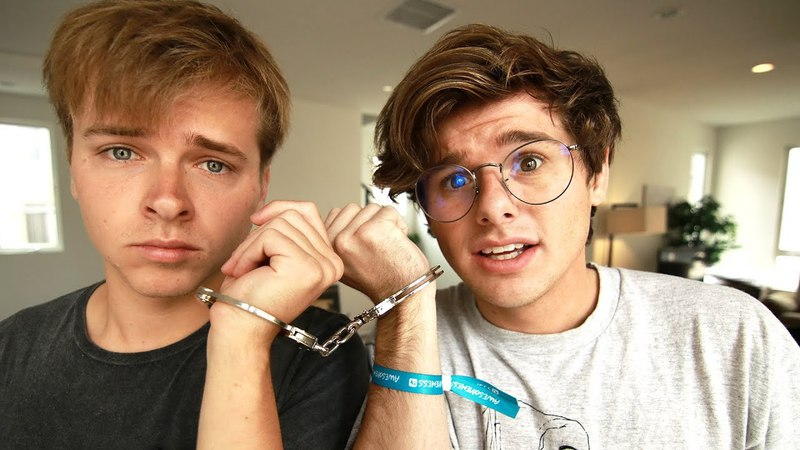 I HANDCUFFED MYSELF TO MY BEST FRIEND (for 18 hours)