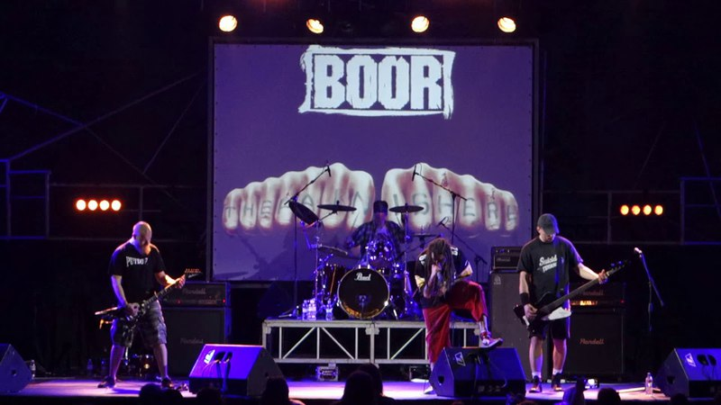 Boor - War (Live at Bingo club, Kiev, 16.03.2018)