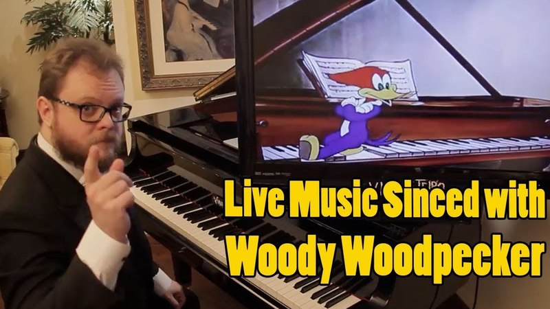 Concert with Video Woody Woodpecker Musical Moments From Chopin