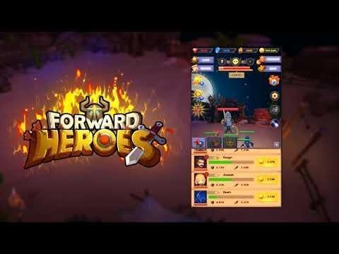 Forward Heroes android game first look gameplay español
