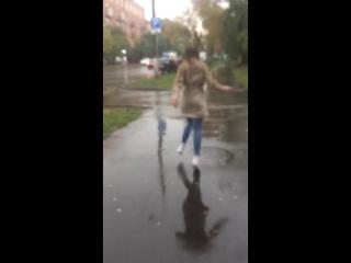 Бегу в мокрых кроссах к тебе