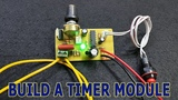 How to make Timer Module for Spot Welder at Home