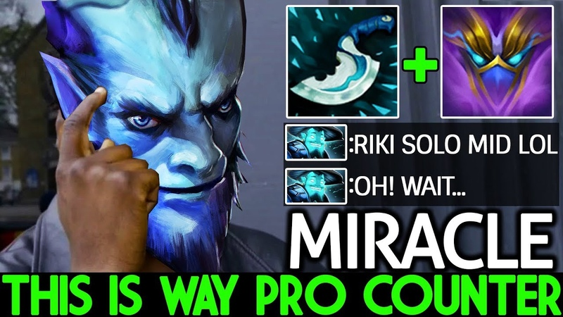 Miracle- [Riki] This is Way Pro Counter Pick 7.19 Dota 2