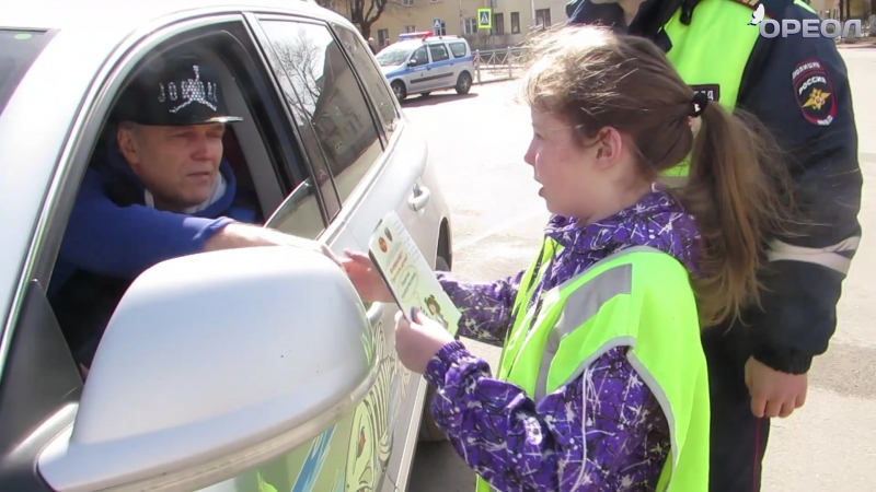 Юные инспекторы дорожного движения в Бокситогорске