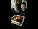 Торт на 14 лет Илюше! нояб.2017
