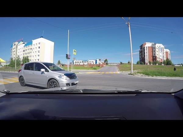 Башенный водитель Nissan г.Ноябрьск 06.07.2018