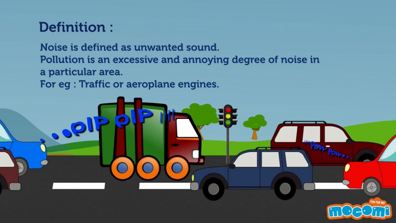What Is Noise Pollution│Cinekids
