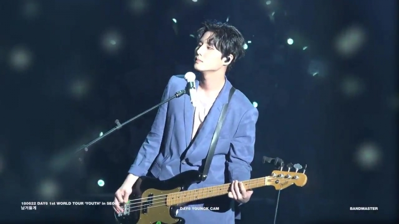 180622 DAY6 1st WORLD TOUR YOUTH' in SEOUL - 남겨둘게 YOUNGK CAM