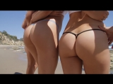 Micro Gigi Micro G-String Commercial - Models at Malibu Beach