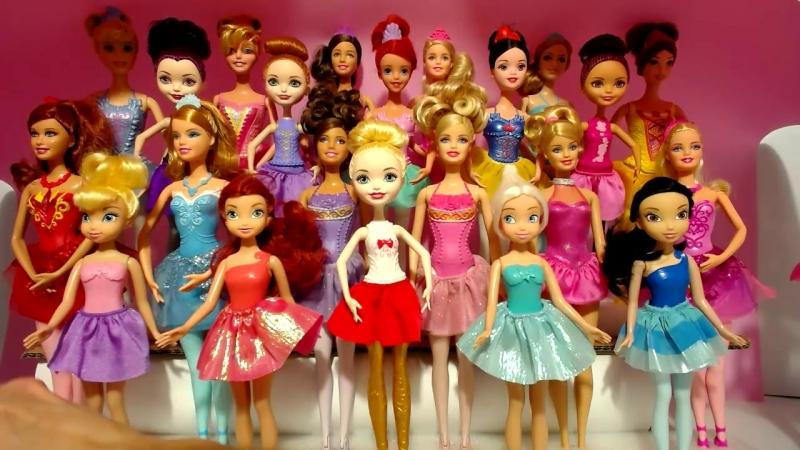 Подставки для Куклы Барби Балерины Принцесс Диснея Маттел Эвер Афтер Хай и Феи Дисней Часть 2